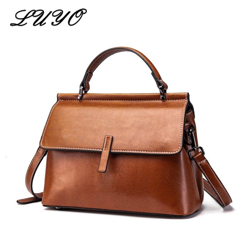 Bolsas de Luxo Real Couro Genuíno Alta Qualidade Feminina Senhoras Bolsas Mão Designer Bolsa Ombro Feminino Pochette