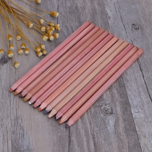 12Pcs/set Professional Soft Pastel Colored Pencils Wood Skin Tint Pencil For Drawing School Stationery