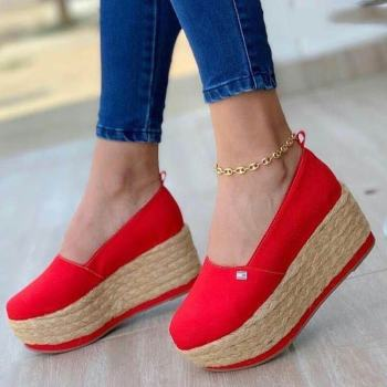 2021 New Women Flat Shoes Summer Vulcanized Shoes Solid Thick Bottom Women's Sandals Fashion Bow Casual Shoes Zapatos De Mujer