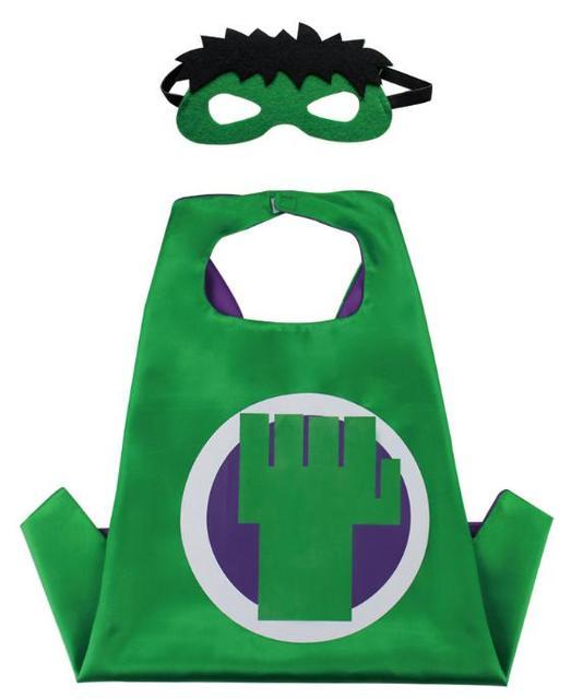 Christmas Halloween Superhero Cartoon Costume Hero Game Costumes Cape With Masks For Kids Birthday Cosplay Free Shipping 1