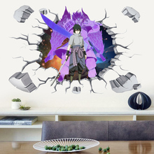 3D Posters Japan Anime Wall Stickers For Boy Room Kids Outer Space Nursery Bedroom DIY Decor Waterproof Murals Room Wallpaper