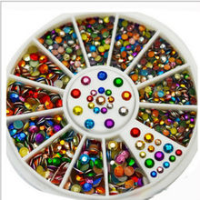 1 Pcs Brilliant Colour Mixing Nail Mirror Glitter Powder Metallic Color Nail Gel Polishing Chrome Flakes Decorations Manicure(China)