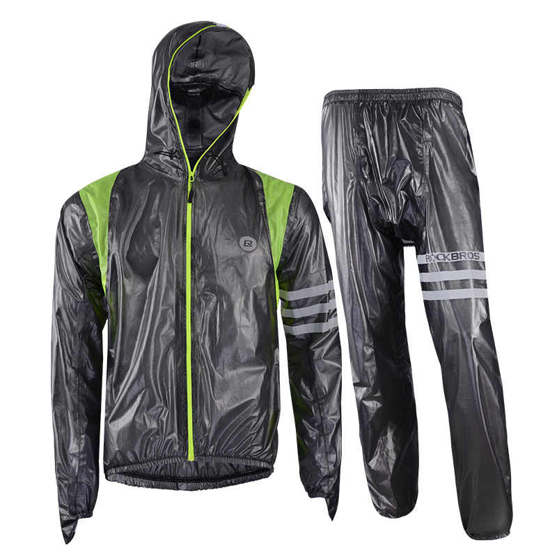 Anti Air Tahan Angin Bersepeda Jaket MTB Sepeda Jersey Bernapas Dikompres Jaket Sepeda Jalan Mantel untuk Hujan Ringan