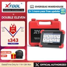 X100 الوسادة OBD2 السيارات مفتاح مبرمج ماسح ضوئي تشخيصي السيارات رمز القارئ IMMO EPB DPF BMS إعادة عداد المسافات EEPROM تحديث على الانترنت