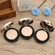 ZHENDUO 3 colors wet and dry dual use double-layer powder waterproof sweat-proof  oil-control concealer loose makeup