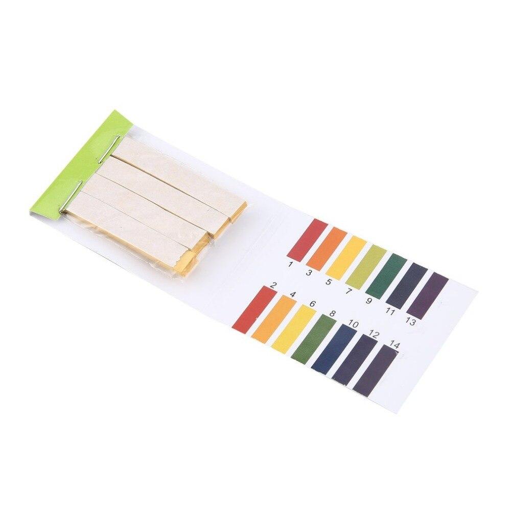 1-14 PH Test Paper Alkaline Acid Indicator Meter Roll For Water Urine Saliva Soil Litmus Accurate Testing Amazing 80 Strips