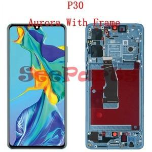Image 3 - מקורי עבור Huawei P30 Pro LCD מסך מגע Digitizer עצרת Huawei P30 LCD תצוגת Huawei P30 פרו תצוגת VOG L29 ELE L29