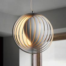 Designer Creative LED Round Pendant Lights Modern Decor Kitchen Hanging Lamps Art Bar Coffee Store Decorative Hanglamp Luminaria