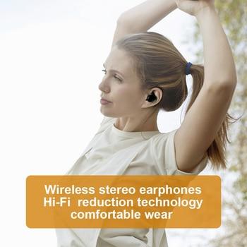 JFWEN Y30 TWS Bluetooth 5.0 Wireless Stereo Earphones Earbuds In-ear Noise Reduction Waterproof Headphone  With Charging Case 2