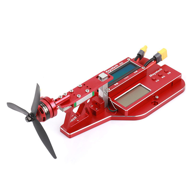 Mayatech MT10PRO 10KG Motor Thrust Tester Propeller Power Tension Measurement Metal tool For RC Model Racing Drone