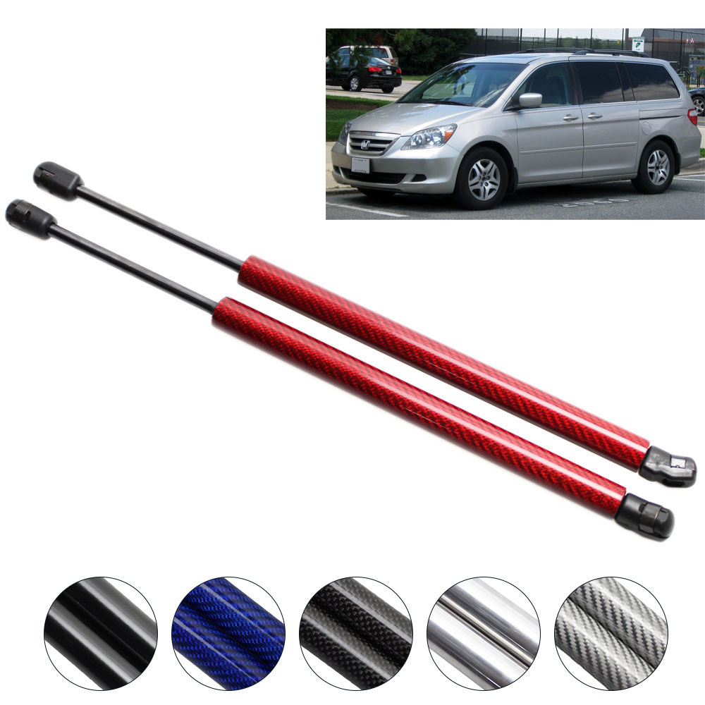 for 2005 2007 2008 2009 2010 Honda Odyssey carbon fiber Auto Liftgate Tailgate Trunk Boot Lift Supports Gas Struts 28.54 inch|strut|strut support|struts 2 - title=