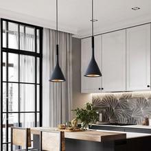 Lampe suspendue au design nordique moderne, luminaire décoratif d'intérieur, idéal pour une cuisine, une chambre à coucher ou un café
