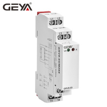 Free Shipping GEYA GRV8-03  Voltage Monitoring Relay Phase Sequence and Phase Failure Protection Relay 8A 10A 1SPDT 2SPDT цена и фото