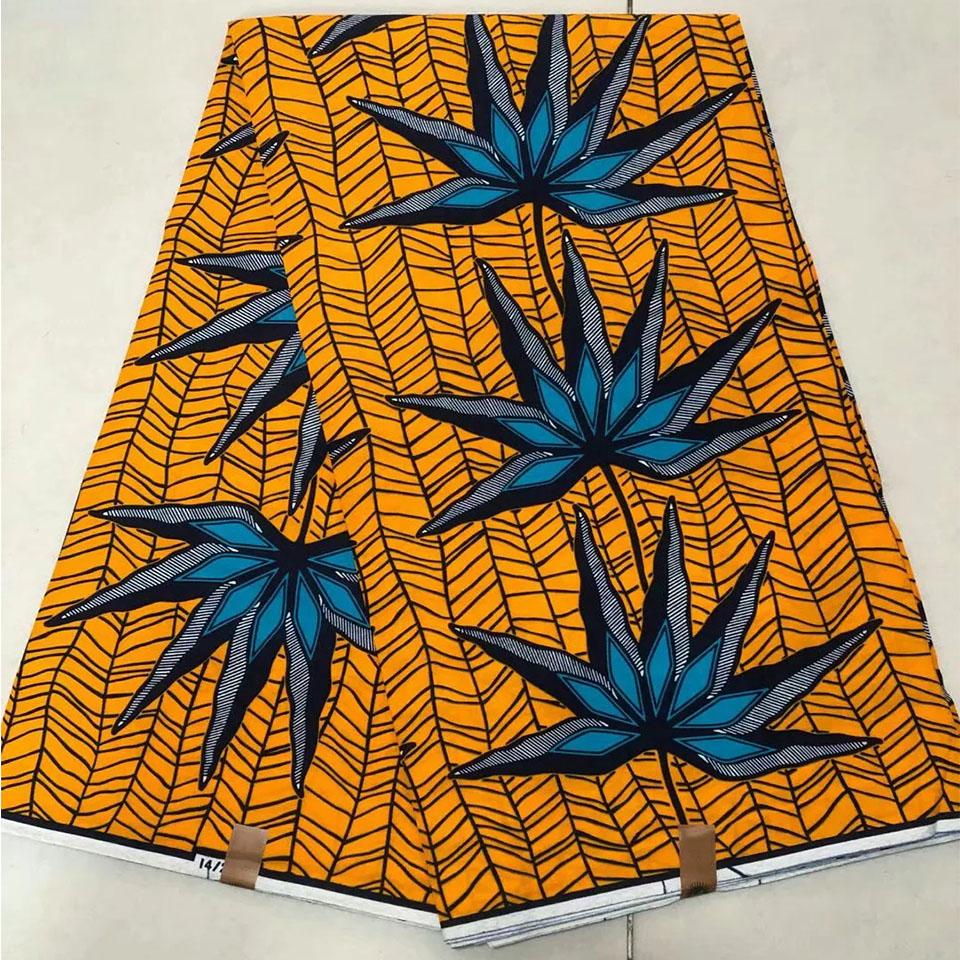 Mitex Print Cotton Fabrics For Craft Making Dresses Skirts /African Fabrics Kitenge Tissues Africain Pagne DF-341