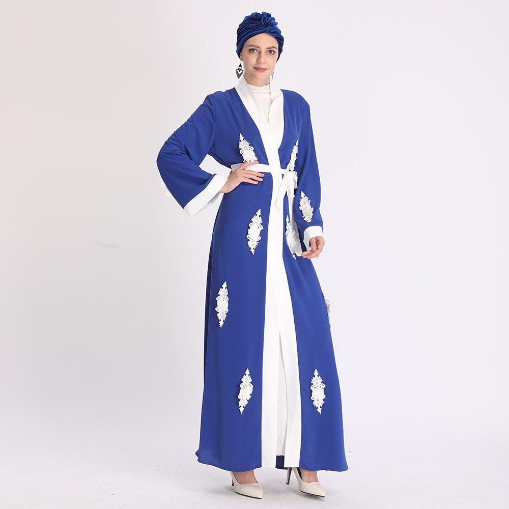 Ramadan Eid Mubarak Abaya Embroidery Turkey Kimono Cardigan Hijab Islamic Clothing Muslim Dress Abayas For Women Dubai Kaftan Best Sale A409d5 Mafiatown