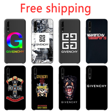 Givenchy Phone Case Beautiful simple Fashion Black phone case For Sotf Silicone TPU huawei p20 p30Lite p10 p9 p8 series Coque