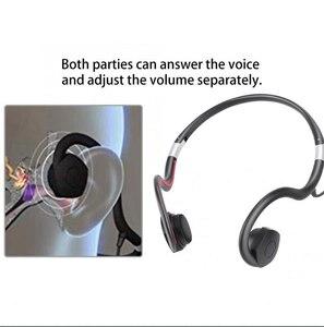 Image 3 - BN802 Knochen Leitung kopfhörer alten mann headset sport gebaut in batterie sound verstärker Hörgerät kopfhörer