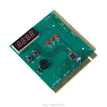 PCI & ISA Motherboard Analyzer Diagnostic Display 4-Digit Computer Debug Post Card  S16 20 Dropship 1