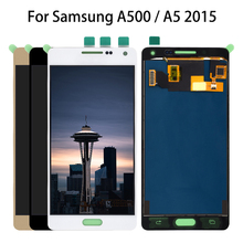 TFT For Samsung Galaxy A5 2015 LCD A500 A5000 Display Touch Digitizer Sensor Glass Assembly Can Adjust A500 A500F A500FU A500H все цены