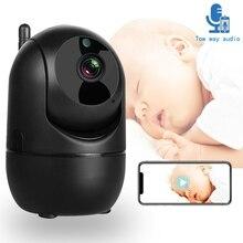 Видео Видеоняни и радионяни Wi-Fi, Радионяня Камера 1080P Ночное видение крик младенцев тревоги двухстороннее аудио детские спальные няня безоп...