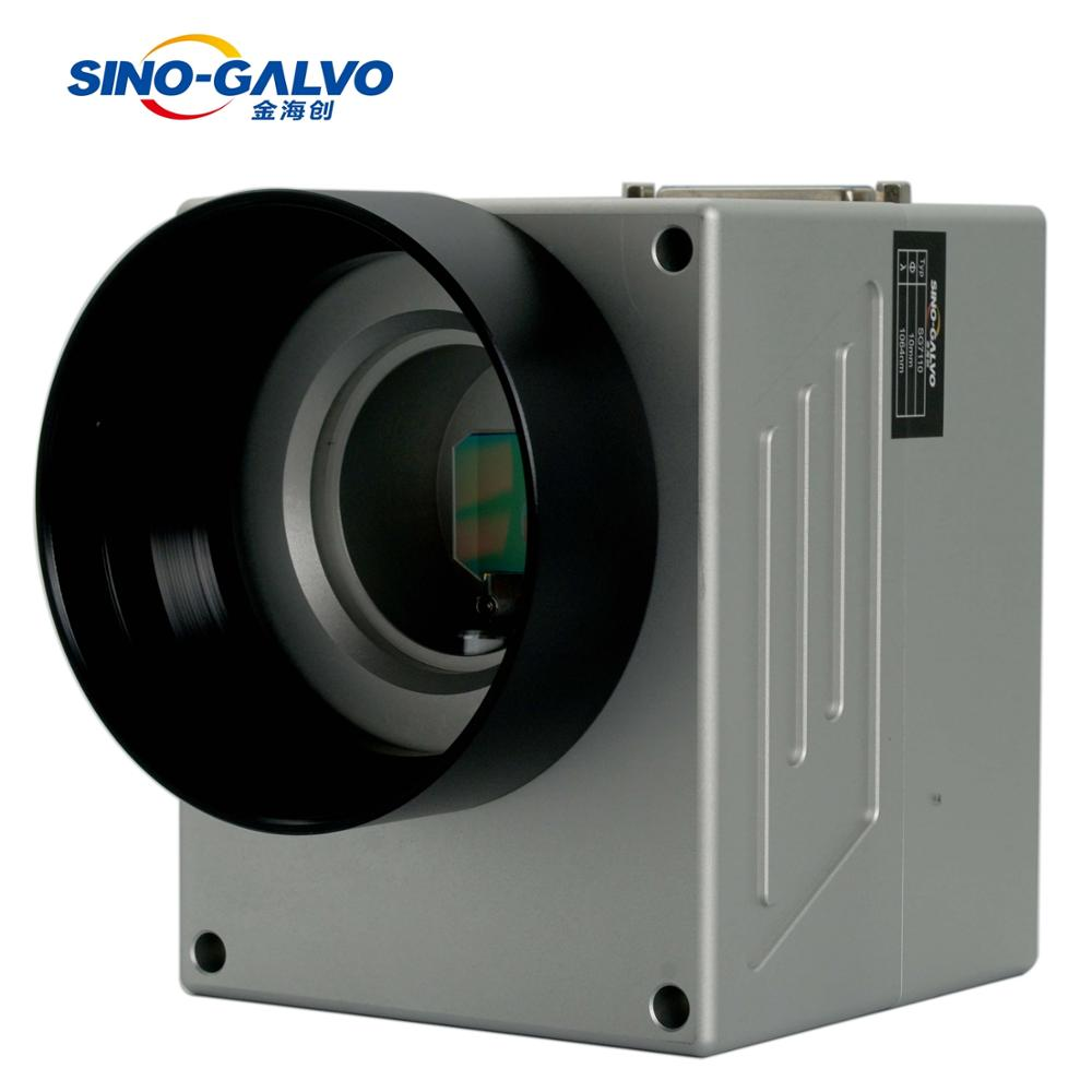 FREE SHIPPING SINO-GALVO SG7110 1064nm 10mm Laser Galvanometer Galvo Scanner Galvo Head For FIber Laser Marking Machine