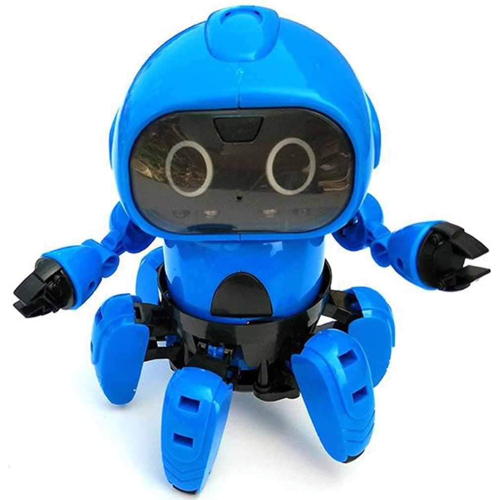 963 inducción inteligente remoto RC Robot modelo de juguete con el siguiente Sensor de gesto evitar obstáculos para niños regalo presente
