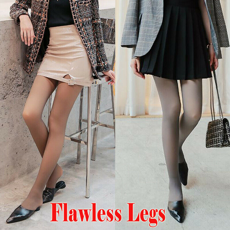 ÜUltimate DealNew Winter Flawless Legs Fake Translucent Warm Fleece PantyhoseÝ