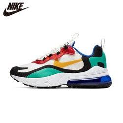 NIKE AIR MAX 270 REACT Kids Original Children Running Shoes Comfortable Sports Outdoor Mesh Sneakers BQ0102-002