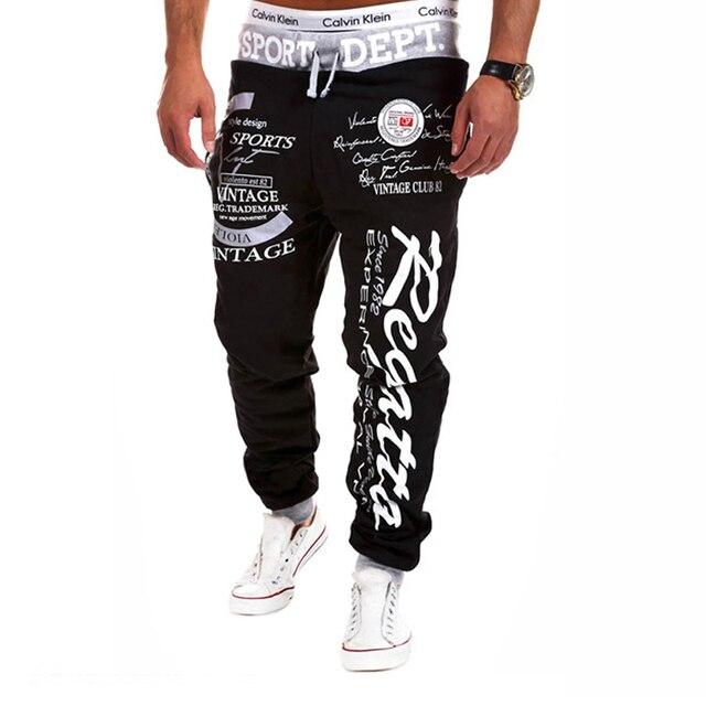 SWAGWHAT Men Pants Hip Hop Joggers Pants 2019 New Male Trousers Men Letters Printed Casual Pants Sweatpants Man Dancing wear 5