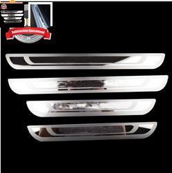 Paslanmaz çelik kapı eşiği tıkama plakası Peugeot 308 için Fit 408 508 3008 2008 307