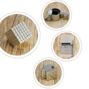 Image 2 - 216 ピース/セット 3 ミリメートルマジック磁石ブロックボールビーズ建物のおもちゃパズル