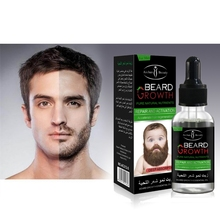 100% Natural Men Growth Beard Oil Organic Beard Wax balm Avoid Beard Hair Loss