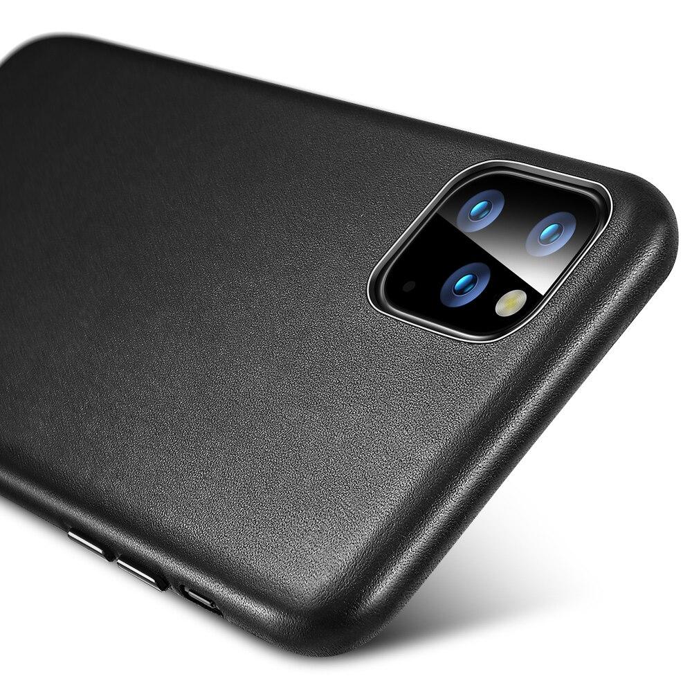 Hdab652cad2e346219ff0a4ecf082a061a ESR Case for iPhone 11 Pro Max Leather Case Cover Brand Black Green Genuine Leather Protective Cover for iPhone 11 2019 11pro