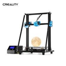 Creality 3d CR-10 v2 alta precisão impressora 3d diy kit perfil em forma de v 300*300*400mm placa-mãe silenciosa currículo impresora 3d