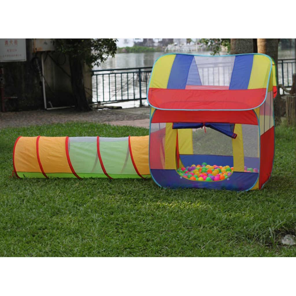 Túnel de arrastre portátil para niños y bebés, tienda de campaña de verano para exteriores, tienda de campaña para jugar en la playa