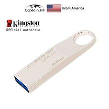 US Captain USB Flash Drive USB 3.0 DataTraveler SE9G2 Flash Disk Metal 3.0 U Disk 8GB 16GB 32GB 64GB 128GB usb flash drive 32gb kingston datatraveler swivl usb 3 0 metal dtswivl 32gb