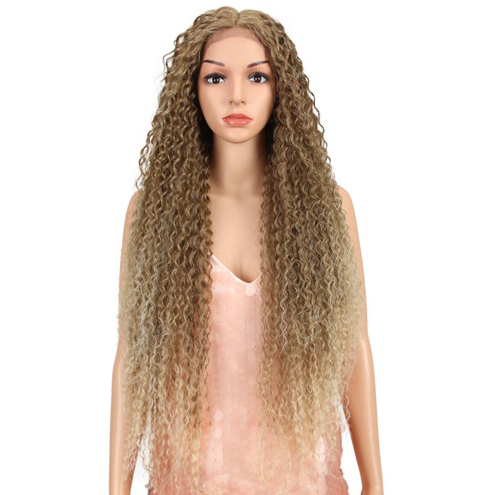 Bella peruca sintética frente do laço para
