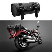 LEEPEE Motorrad Tasche Moto Rucksack Lagerung Beutel Sattel tasche Tank Tasche PU Leder Motorrad Gepäck Motorrad Zubehör