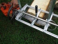 20 24 36 motosierra portátil Molino de registro Borde de sierra 50CM 60CM 90CM 14 ~ 36 pulgadas guía de madera tablón de madera