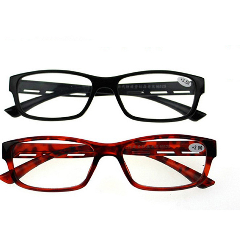Fashion  Reading Glasses Stylish Comfortable For Men And Women With HD Resin TR90 Lens Presbyopic Glasses+1.0 to +3.5 4.0