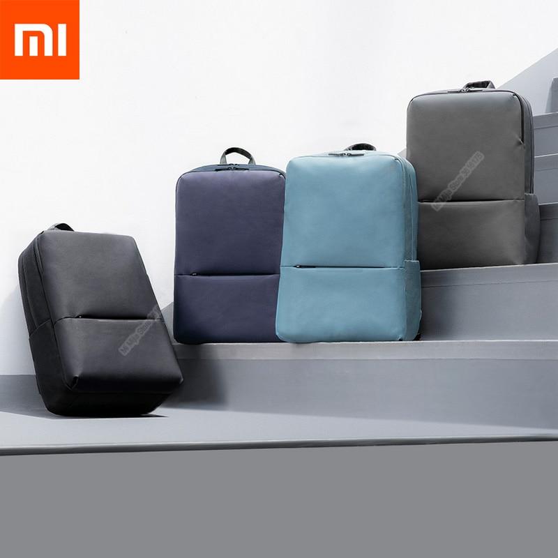 Original Xiaomi Mi Classic Business Backpack 2 Generation Level 4 Waterproof 15 6inch Laptop Shoulder Bag Outdoor Travel Bag Bags Aliexpress