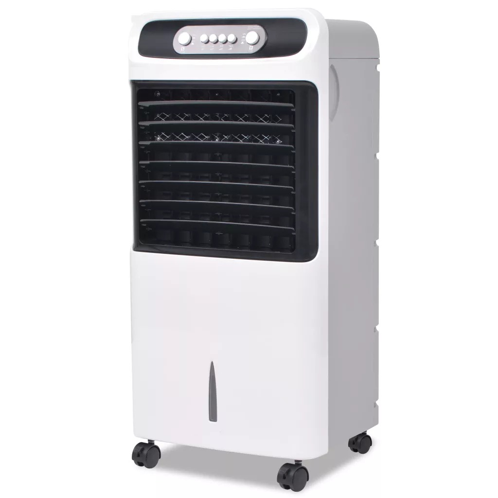 VidaXL 80 W Portable Air Conditioner Conditioning Fan Humidifier Cooler Cooling 220-240 V Air Conditioner Timed Cooling Fan