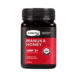 Новейший Новозеландский комвита Манука Мед UMF5 + 500 г для пищеварительного здоровья, дыхательная система, кашель, боль в горле