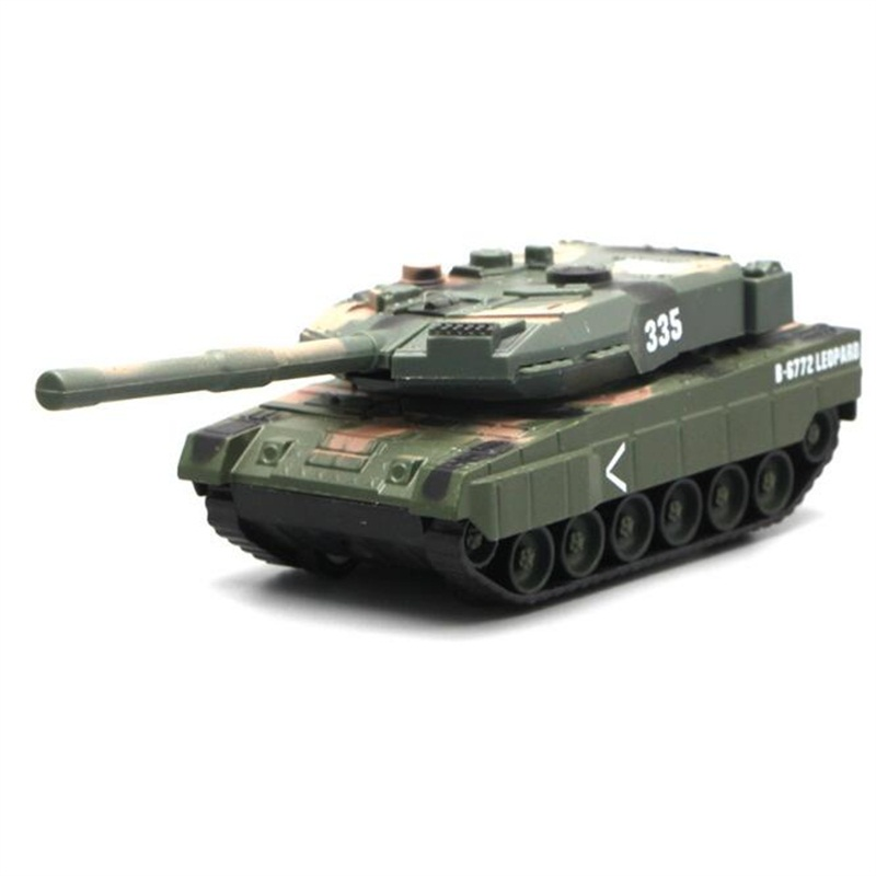 1:43 Simulation Tank Alloy Model Toy Children's Military Series Alloy Tank Collection Kids Toys Christmas Birthday Gifts