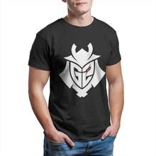 G2 esports casual t camisa venda quente liga das lendas lol moba 100% algodão o pescoço tshirts