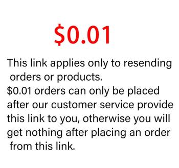 $0.01 Special Link Applies Only To Resending Orders Or Products!!! Otherwise It Is Nothing. image