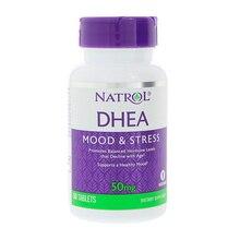 Natrol DHEA 50 Mg Tâm Trạng & Stress Thúc Đẩy Cân Bằng Nội Tiết Tố Mức 60 Viên