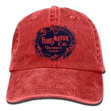 New Baseball Cap Ford Motor Company Detroit Travel Denim Nat