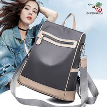 Oxford Cloth Backpack Female 2020 New Korean Fashion All-match Bag Casual Travel Bag Canvas Small Backpack tide fashion female korean backpack all match shoulders