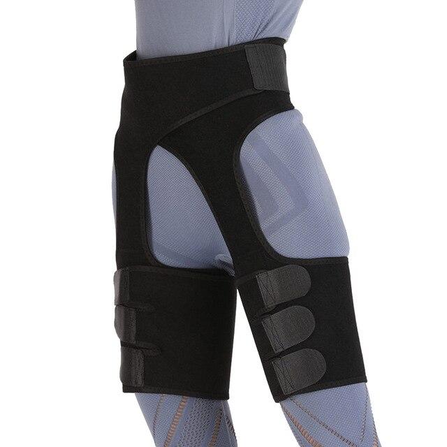 Fat Burning Yoga Trainer Butt Lift Sweat Shapewear Fitness Leg Shapers Waist Thigh Trimmer Adjustable For Women Slimming Belt 3